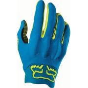 Fox Attack Gloves Black Blue Yellow S