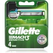 Gillette Mach3 Sensitive rezerva Lama 4 buc