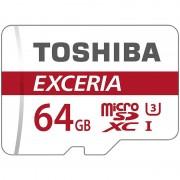 Toshiba Exceria microSDXC-Speicherkarte M302, 64 GB, Class 10 / UHS U3