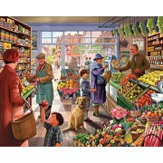 White Mountain Puzzles Market Day Jigsaw Puzzle (1000 Piece)