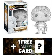 Frodo Baggins [Invisible] (B&N Exclusive): Funko POP! Movies x Lord of the Rings Vinyl Figure + 1 FREE Official Hobbit Trading Card Bundle (13552)