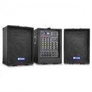 Hordozható PA Skytec PA 100 renszer, USB, MP3, 4 csatornás (Sky-170.298)