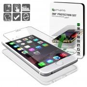 Conjunto de Protecção 4smarts 360 para iPhone 6 / 6S - Transparente