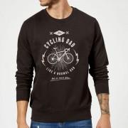 Cycling Dad Sweatshirt - Black - 4XL - Black