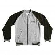 Quiksilver Mikina Quiksilver You Koso Bomber Youth light grey heather
