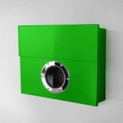 Radius Design Letterman XXL Briefkasten grün (RAL 6018) ohne Klingel ohne Pfosten