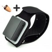Spy sluchátko + Bluetooth náramek 4W zesilovač
