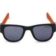 CAPRIO Oval Sunglasses(Black)