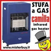 STUFA A GAS RAGGI INFRAROSSI CAMILLA 4200