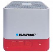 Безжичен Bluetooth алуминиев високоговорител Blaupunkt BT02 - червен