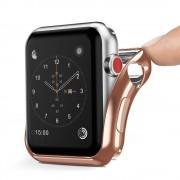 DUX DUCIS Gel telefontok hátlap tok TPU Cover Apple Watch sorozat 2/3 42 mm arany (Champagne Gold)