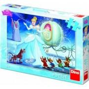 Puzzle Dino Toys Cenusareasa 48 piese Multicolor