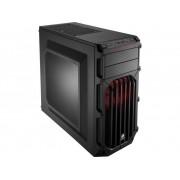Midi-tower Gaming-behuizing Corsair Carbide SPEC-03 Zwart 1 voorgeïnstalleerde ventilator, 1 voorgeïnstalleerde LED-ventilator, Stoffilter, Zijvenster, Harde