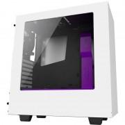 Carcasa NZXT S340 White Purple