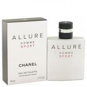 Allure Sport Eau De Toilette Spray By Chanel 1.7 oz Eau De Toilette Spray