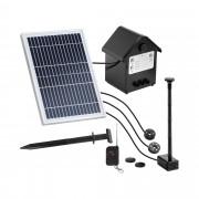 Pompe solaire pour bassin - 250 l/h - LED - Télécommande
