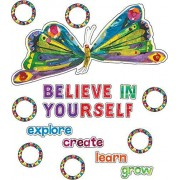 The Very Hungry CaterpillarTM Believe in Yourself Bulletin Board Set