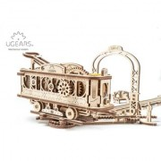 Ugears Tram Line 3D Mechanical Puzzle