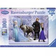 Пъзел Ravensburger 100 елемента, Замръзналото кралство на Снежната кралица, 7010516