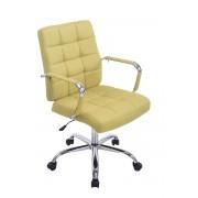 CLP Sedia da ufficio Deli PRO tessuto, verde , verde, altezza seduta