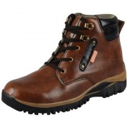 FAUSTO Brown Men's Casual Boots