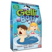MolliToys Gelli Baff, Förvandlar ditt badvatten till gegga, 300 g (Röd)