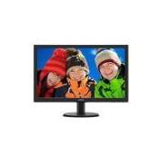 Monitor 23,6' LED Philips HDMI FULL HD Multimidia 243V5QHABA