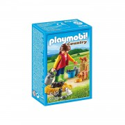 6139 Playmobil Country Bonte kattenfamilie