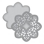 Spellbinders S2-021 Shapeabilities D-Lites Medallion 4-Die Templates