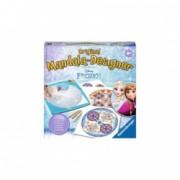 Set de creatie pentru fete Midi Mandala - Frozen Ro Ravensburger