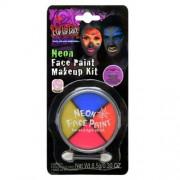 Ansiktssmink Neonfärg
