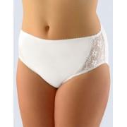 GINA Kalhotky klasické ve větších velikostech 11055-MxB bílá 46-48