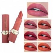 MISS ROSE Créatif Pour Les Lèvres Conçu Rouge À Lèvres Mat Maquillage Pour Les Lèvres Maquillage Cosmétique