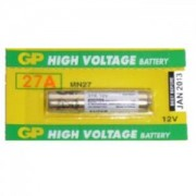 Алкална батерия 12 V цена за 1 бр./ за аларми А27 GP - GP-BA-LR27-12V