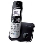 Panasonic KX-TG6811JTB Cordless DECT Telefono, Schermo LCD, Nero