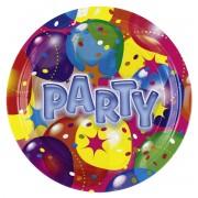 8 Farfurii Balloon Party - 23 cm