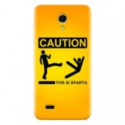 Husa silicon pentru Allview A5 Easy This Is Sparta Funny Illustration