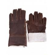 Мъжки ръкавици с естествен каракул