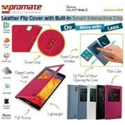 Promate Admin.N3- Leather Flip Cover with