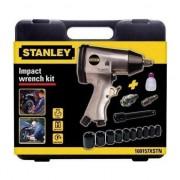 Pistol de impact cu chit de accesorii Stanley, debit 200 l/min, presiune 6 bar