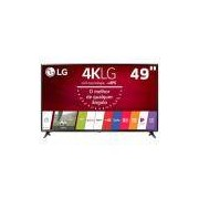Smart TV LED 49 Ultra HD 4K LG 49UJ6300 com Sistema WebOS 3.5, Wi-Fi, Painel IPS, HDR, Quick Acess, Magic Mobile Connection, Music Player, HDMI e USB