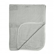 Dreamscene Luxurious Faux Fur Throw - Silver - 200x240cm - Grey