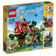 Конструктор ЛЕГО Криейтър - Приключения в дървесната къща, LEGO Creator, 31053
