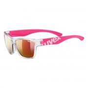 Uvex Occhiale sole Uvex Sportstyle 508 (Colore: fucsia trasparente, Taglia: UNI)
