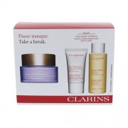 Clarins Take A Break Kit 75Ml Extra-Firming Mask 75 Ml + Toning Lotion 50 Ml + Peeling Cream Gentle Refiner 15 Ml Normal And Dry Skin Per Donna (Cosmetic)