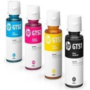 Refill INK Hp Gt51 GT52 Multi Color Ink (Black Magenta Cyan Yellow)