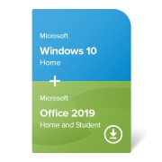 Windows 10 Home + Office 2019 Home and Student elektronikus tanúsítvány