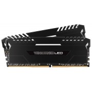 Corsair 16GB (2x8GB) DDR4 3200MHz Vengeance Black Heat spreader with White LED (LS)