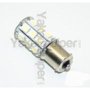 Ampoule 81 LED R5W S25 1156 BA15S P21W - Blanche pour Veilleuse