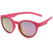 Polaroid Kids PLD 8019/S Gafas de sol, color Rosa, 45 mm